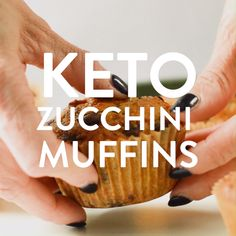 KETO ZUCCHINI MUFFINS easy, moist only g net carbs ketomuffins ketozucchinimuffins keto muffins glutenfree paleo sugrfree dairyfree zucchini easy healthy almondflour 613826624196086589 Keto Friendly Desserts, Low Carb Desserts, Low Carb Recipes, Diet Recipes, Healthy Recipes, Bread Recipes, Keto Foods, Keto Snacks, Zucchini Muffins