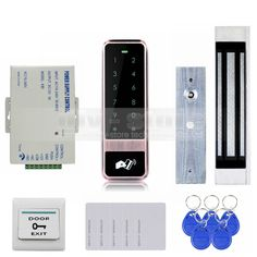 86.05$  Buy now - http://ali5cx.shopchina.info/1/go.php?t=32630046062 - DIYSECUR 125KHz RFID Reader Password Touch Keypad Door Access Control Security System Kit Magnetic Lock  #magazineonlinebeautiful