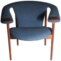 Adrian Pearsall Arm Chair by Craft Associates   From a unique collection of antique and modern armchairs at https://www.1stdibs.com/furniture/seating/armchairs/