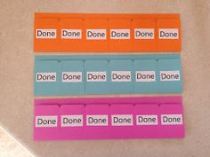 Last school year I printed morning routine charts for the kids to follow. They put up a sticker each morning when they had completed all ta...
