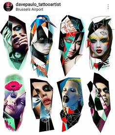 Full colorr Tattoo Sketches, Tattoo Drawings, Body Art Tattoos, Sleeve Tattoos, Tummy Tuck Tattoo, Surreal Tattoo, Girl Face Tattoo, Nostalgia Art, Japanese Tattoo Art
