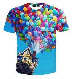 Popular Fashion 3D print Funny Women Men T Shirts Short sleeve Tee Music Top New
