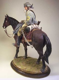 Sergeant Major – Confederate Cavalry 1/6 Scale Model