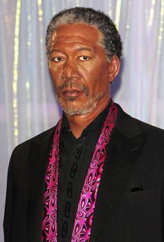 Wax Figures of Morgan Freeman at Madame Tussauds