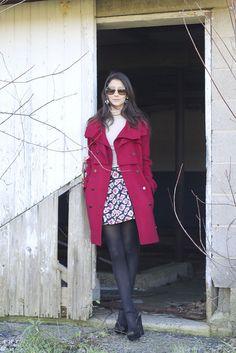 fall fashion. love that coat