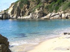 Spiaggia di Cavoli - Isola d'Elba- Toscana The beach of Cavoli Elba island Italy