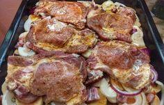 """Takiej karkówki jeszcze nie jedliście – """"Cygan w Rondlu"""" zachwyci nawet . No Salt Recipes, Pork Recipes, Cooking Recipes, Kebab, Czech Recipes, Hungarian Recipes, Pork Dishes, Food Videos, Food Inspiration"""