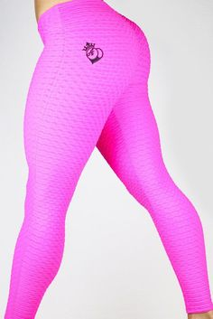"BootyQueen ""IDEAL"" legging- Hot Pink"