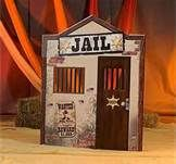 Western Party Theme jail