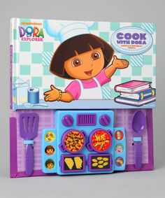 Take a look at this Cook with Dora Hardcover by Parade of Toys Collection on #zulily today!