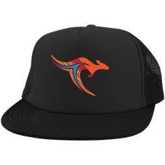 TravelHop Kangaroo Logo Trucker Hat with Snapback