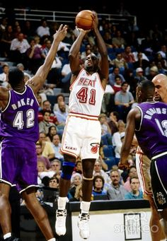 Glen Rice - Miami Heat #NBA