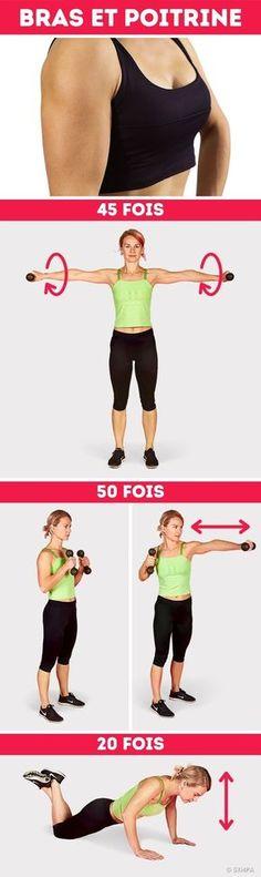 Pour brûler lagraisse, tonifier les fessiers etavoir une taille deguêpe, tunedois pas nécessairement passer des jours etdes jours àlasalle desport. Tuasjuste besoin desuivre une bonne routine d'exercices, d'avoir une alimentation équilibrée etdetrente minutes par jour. Sympa-sympa.com apréparé pour toi cet ensemble universel d'exercices pour dix jours qui tepermettra detonifier les muscles detout ton corps. Etlemieux dans toutça, c'est que tun'as pas besoin d'aller…