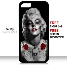 New IPhone 5C Marilyn Monroe Case Tattoo Marilyn by NuAgeProducts, $13.99