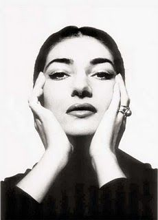 Greek soprano Maria Callas in 1957 Photographed by Cecil Beaton