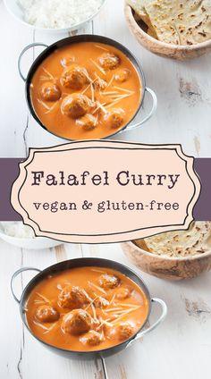 #Vegan and #glutenfree Falafel Curry | Elephantastic Vegan
