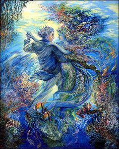 JOSEPHINE WALL...For the love of a mermaid