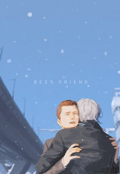 Detroit become human Connor and Hank By: plastic-bridge.tumblr.com