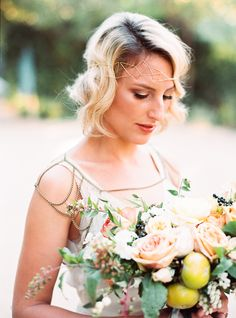 Bohemian jewel toned wedding inspiration | Photo by Danielle Poff Photography | Read more -  http://www.100layercake.com/blog/?p=81721