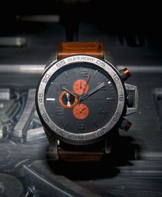 Superdry Super Sport Watch Brown