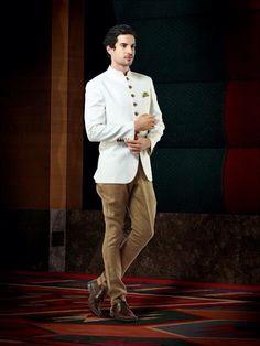 Jodhpuri (Bandh gala) suit.