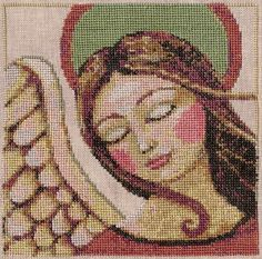 TERESA KOGUT Pray  Counted Cross Stitch by NeedleCaseGoodies