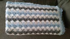 Pastel Waves baby blanket by AlriRayne <3 Free crochet pattern on Ravelry.