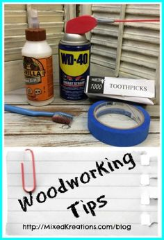 Woodworking tips, and tricks!  #Woodworking #MixedKreations  http://mixedkreations.com/blog/2016/01/16-woodworking-tips-and-techniques/