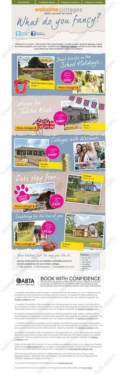 Welcome cottages newsletter