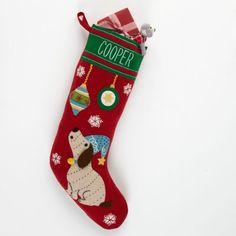 Holiday Stockings – Holiday Dog