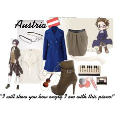 Austria inspired outfit from Hetalia.