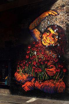 Street art:By Bastardilla in East London.Photo byAlex Ellison. -----LOVE-----