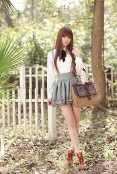 casual lolita look