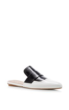 Sabot Two Tone Mules by MARNI Now Available on Moda Operandi
