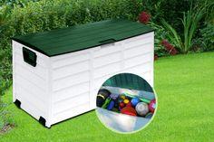 Rolling 250L Garden Storage Chest