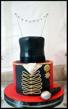 15th Birthday Cakes, Circus Birthday, 4th Birthday Parties, 8th Birthday, Circus Party Foods, Circus Party Decorations, Carnival Cakes, Circus Cakes, Carnival Costumes