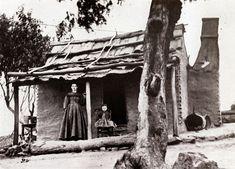 A settler's house, Hill End 1872