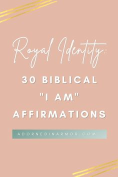This is part 2 of me creating biblical affirmations for queens! I'm blessed to be alive and to know who I am and why I'm here. I pray with these verses you are affirmed of why, too. I pray with these biblical affirmations, you are given the hope you need to keep pressing into Jesus.