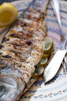 Zomerse temperaturen en daardoor BBQ weer! En een visje daarop is altijd erg lekker....