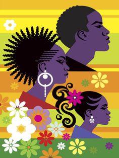 Hairstyles on Three People