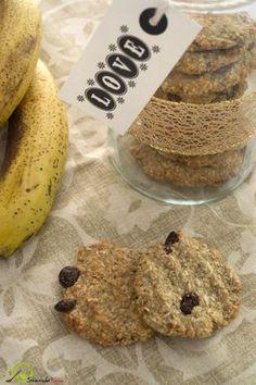 Μπισκοτα με δυο (!) υλικα Raw Vegan Recipes, Good Mood, Bakery, Food And Drink, Sweets, Bread, Diet, Cookies, Chocolate