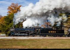 RailPictures.Net Photo: SOU 4501 Southern Railway Steam 2-8-2 at Chickamauga, Georgia by Doyle Massey