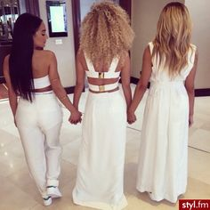 we shud dress in all white one day
