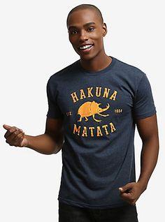 "Disney The Lion King ""Hakuna Matata Bugs"" By Threadless Artist Anna Bednarik T-Shirt, MULTI"