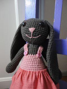 Hæklet kanin.