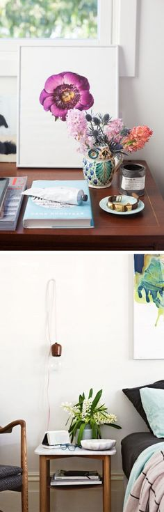 Instant Tidy: Bedside Table Styling - The City Sage