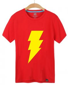 Justice League the flash t shirt for men short sleeve tee shirts superhero