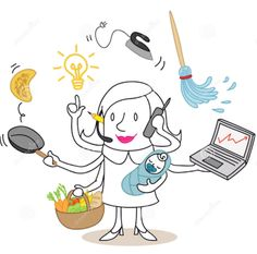 37 Funny multitasking cartoons ideas | funny, bones funny, humor