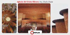 Hoy en #NuestroPatrimonio viajamos hasta Atlantida, a La iglesia del Cristo Obrero, obra del Ing. uruguayo Eladio Dieste, quien comenzó a proyectarla en el año 1955. El proceso de construcción transcurrió entre marzo de 1958 y julio de 1960. Fue declarada Monumento Histórico Nacional en el año 1998.