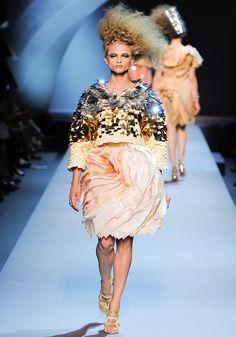 Christian Dior Fall 2011 Runway